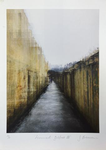 Liminal Belfast III. Limited edition giclée print © Jonathan Brennan Art