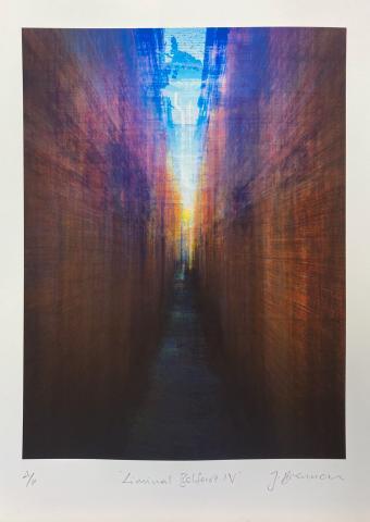 Liminal Belfast IV. Limited edition giclée print © Jonathan Brennan Art
