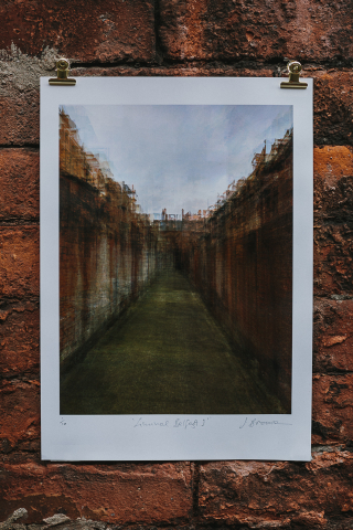 Liminal Belfast I. Giclée print on Epson Archival Matt paper © Jonathan Brennan Art (2020)