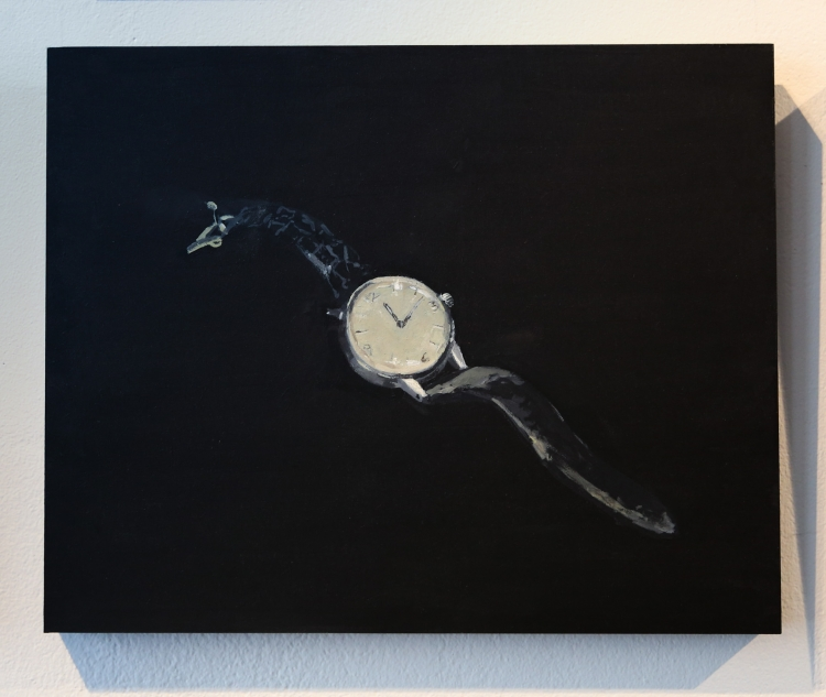 The Watch. Acrylic on panel © Jonathan Brennan, 2019
