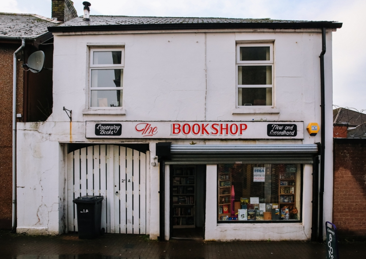 The Bookshop - photograph © Jonathan Brennan, 2017