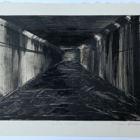 Knock Culvert - monotype on Fabriano © Jonathan Brennan