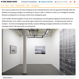 Late Night Art tours showcase Belfast's thriving visual arts scene